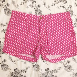 Old Navy | Pink & White Sea Shell Shorts